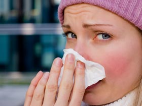 Clear Mucus from Nose